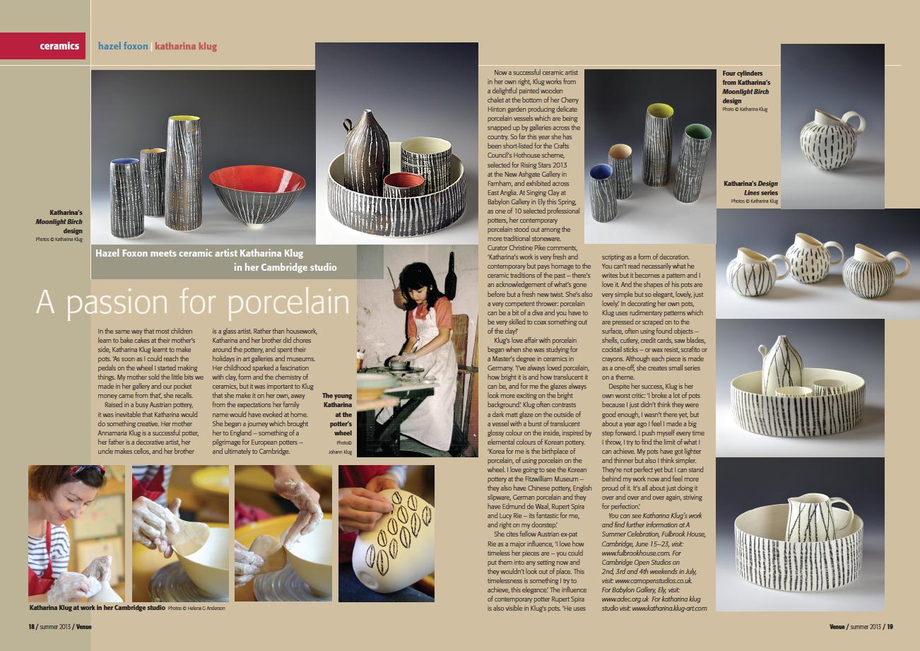 Katharina Klug Ceramics | Press